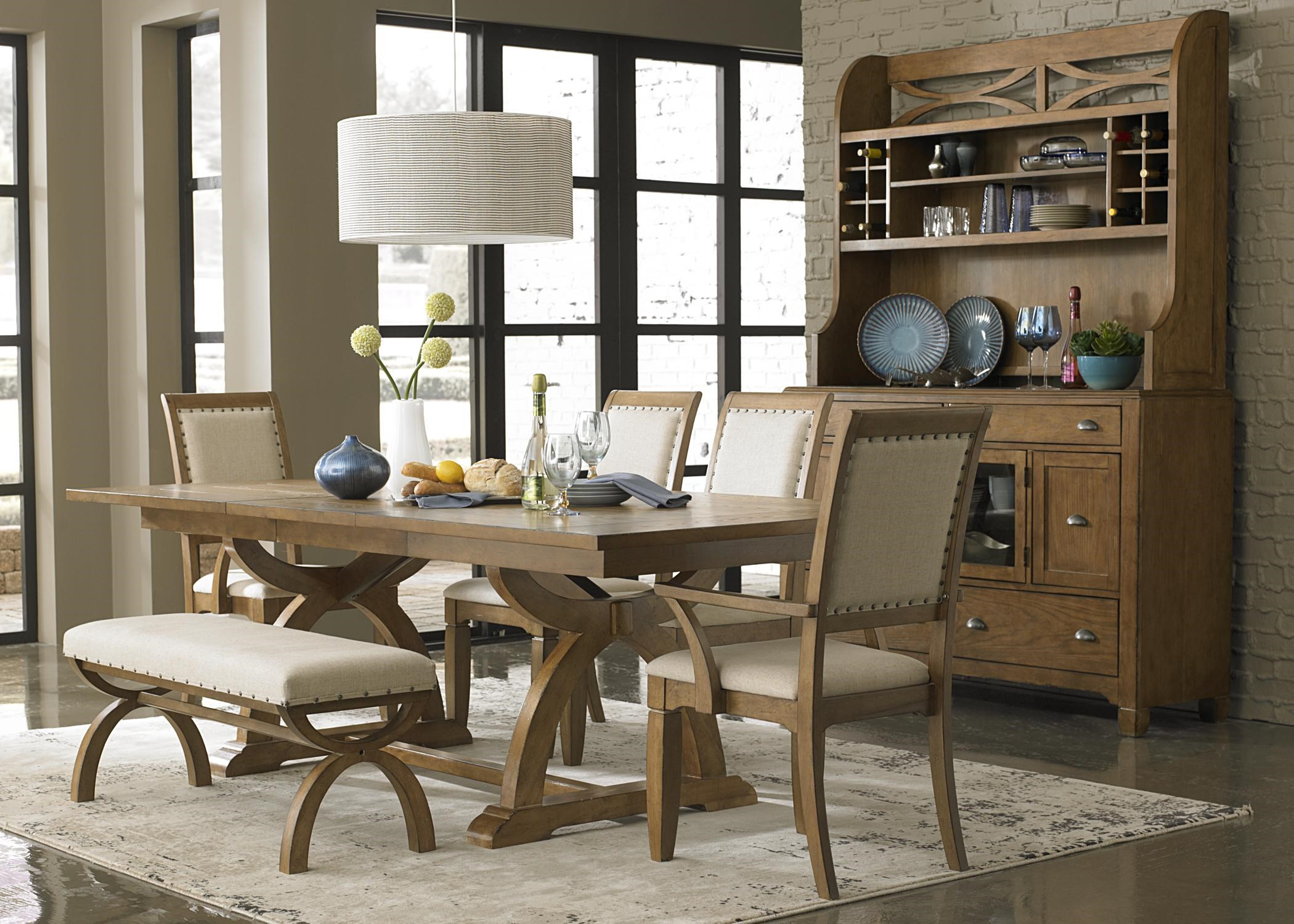 Liberty Furniture Town U0026 Country Formal Dining Room Group