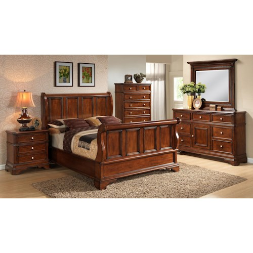 Lifestyle 3185A California King Bedroom Group