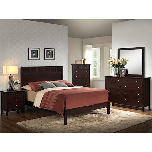 Lifestyle Harper 5PC King Bedroom Set