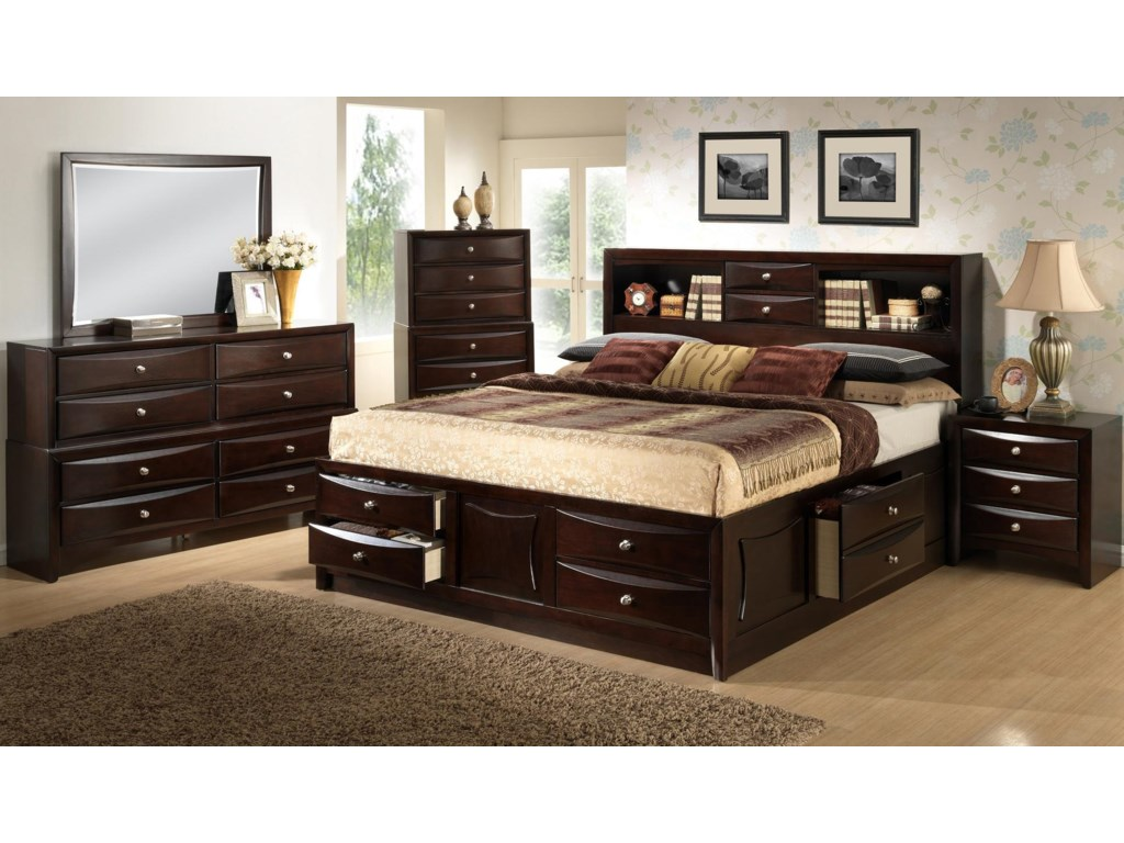 Lifestyle C0172King Bedroom Group
