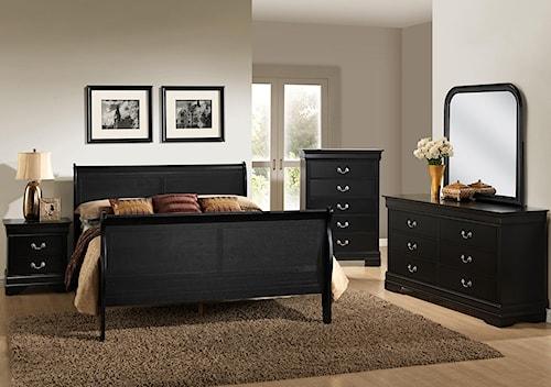Lifestyle C5934 Queen Bedroom Group