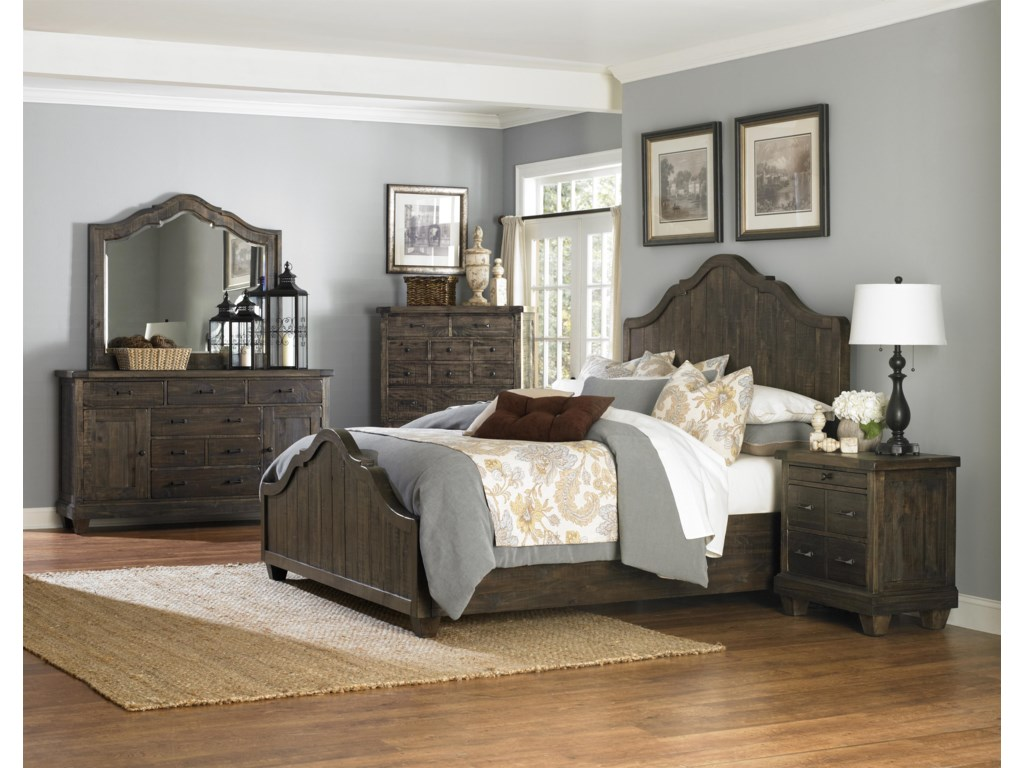 Magnussen Home  BrenleyKing Bedroom Group