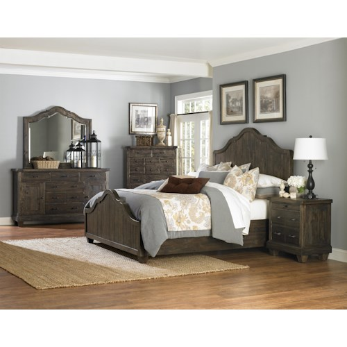Magnussen Home  Brenley Queen Bedroom Group