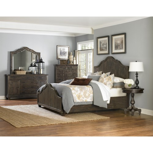 Magnussen Home  Brenley King Bedroom Group