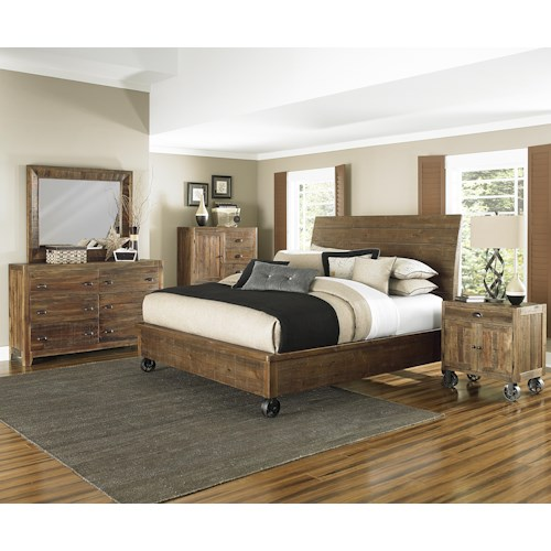 Magnussen Home  River Ridge Queen Bedroom Group