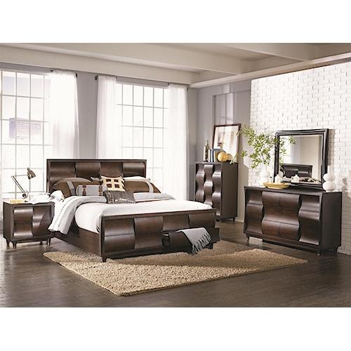 Magnussen Home Fuqua Queen Bedroom Group
