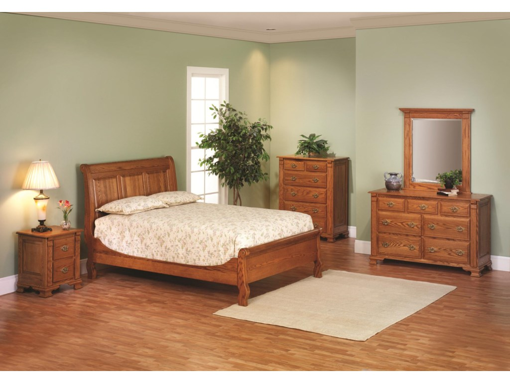Millcraft Journeys EndQueen Bedroom Group 2