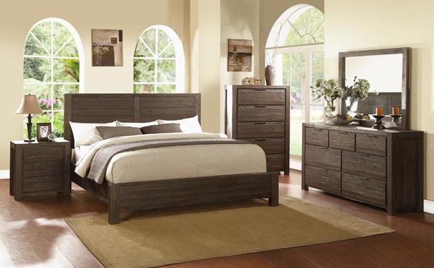 Merveilleux Modus International SavannaKing Bedroom Group