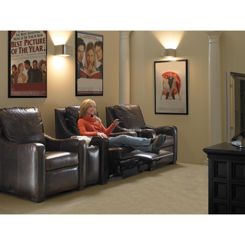 Home Theater Seating by MotionCraft by Sherrill