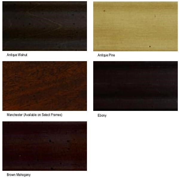 Custom Wood Finishes Available