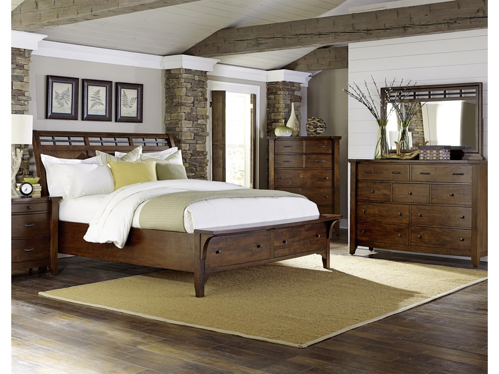 Napa Furniture Designs Whistler RetreatKing Bedroom Group