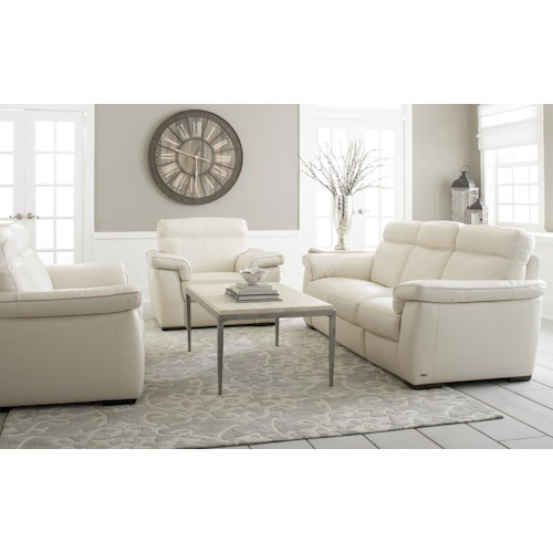 Natuzzi Editions B757 Stationary Living Room Group