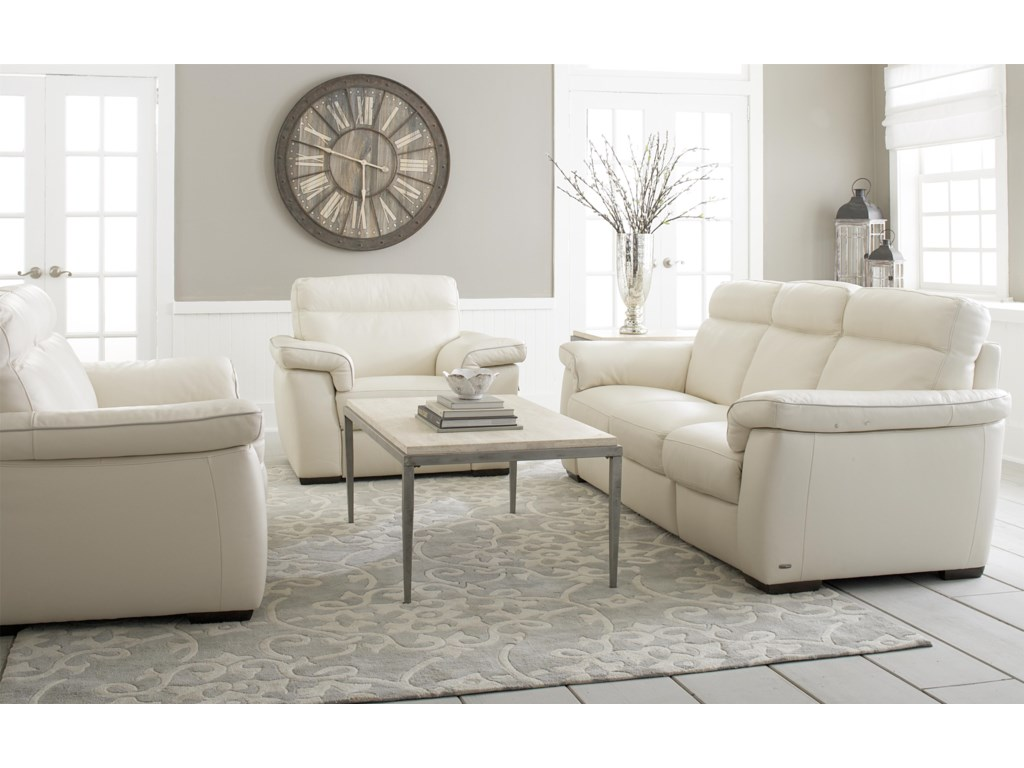 Natuzzi Editions B757 Stationary Living Room Group  Baer s