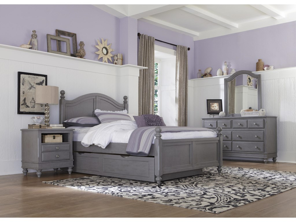 NE Kids Lake HouseFull Payton Trundle Bed