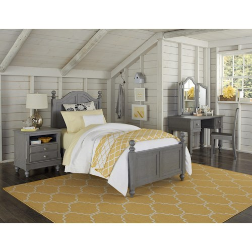 NE Kids Lake House Twin Payton Standard Bed Group 6