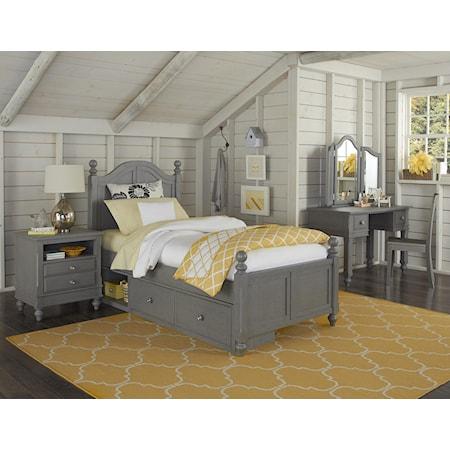 Full Payton Storage Bed