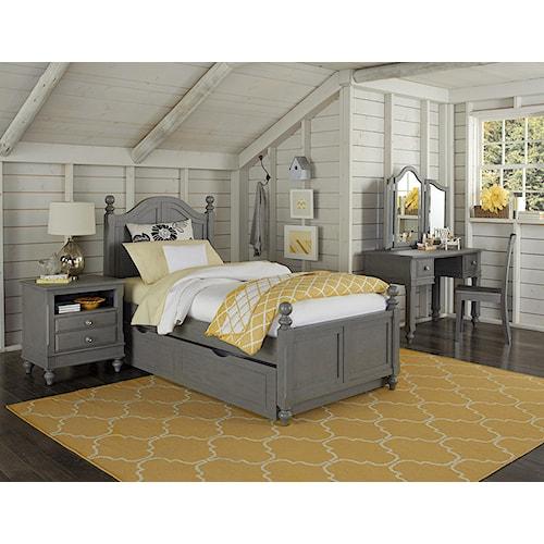 NE Kids Lake House Full Payton Trundle Bed Group 6