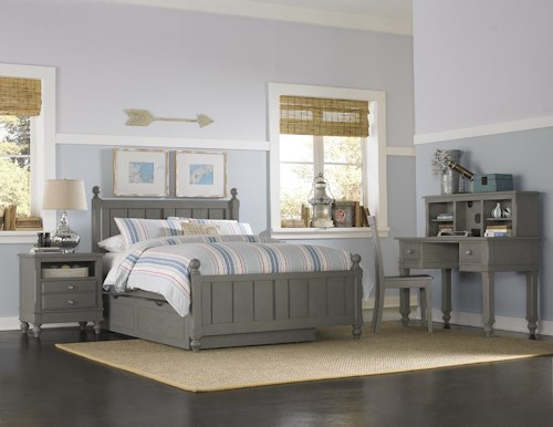NE Kids Lake House Full Kennedy Trundle Bed Group 3
