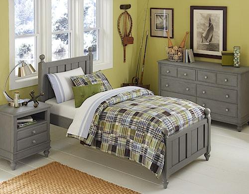 NE Kids Lake House Twin Kennedy Standard Bed Group 4