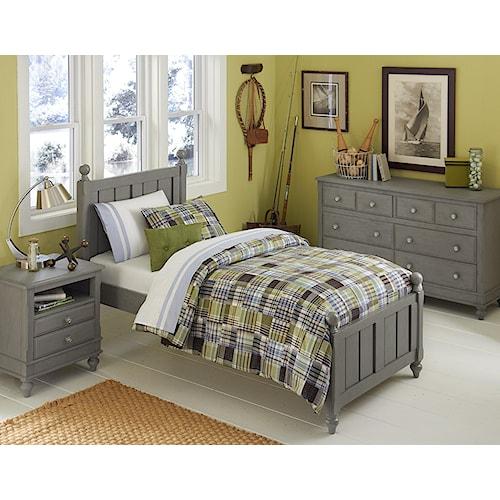 NE Kids Lake House Full Kennedy Standard Bed Group 4