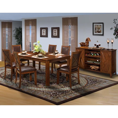New Classic Aspen Dining Room Group Boulevard Home