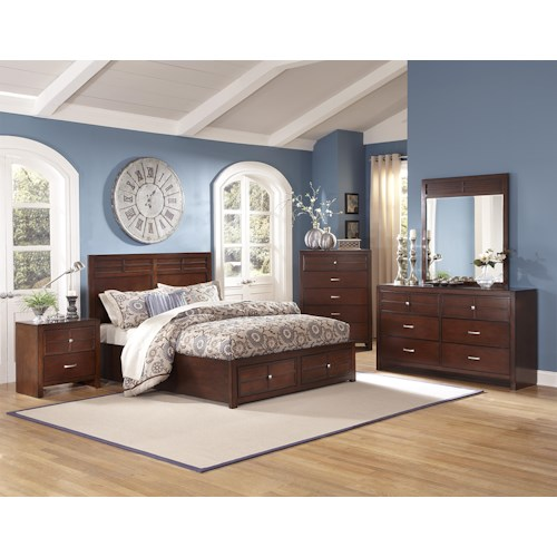 New Classic Kensington Cal King Bedroom Group