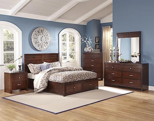 New Classic Kensington Cal King Bedroom Group