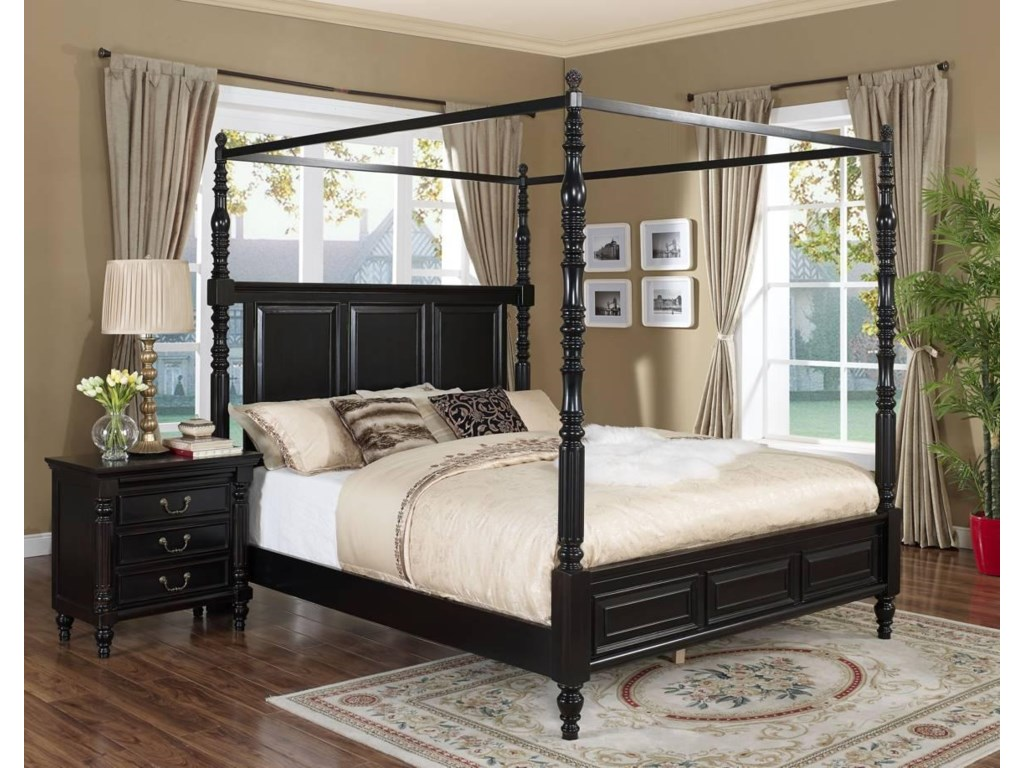 New Classic Martinique BedroomKing Bedroom Group
