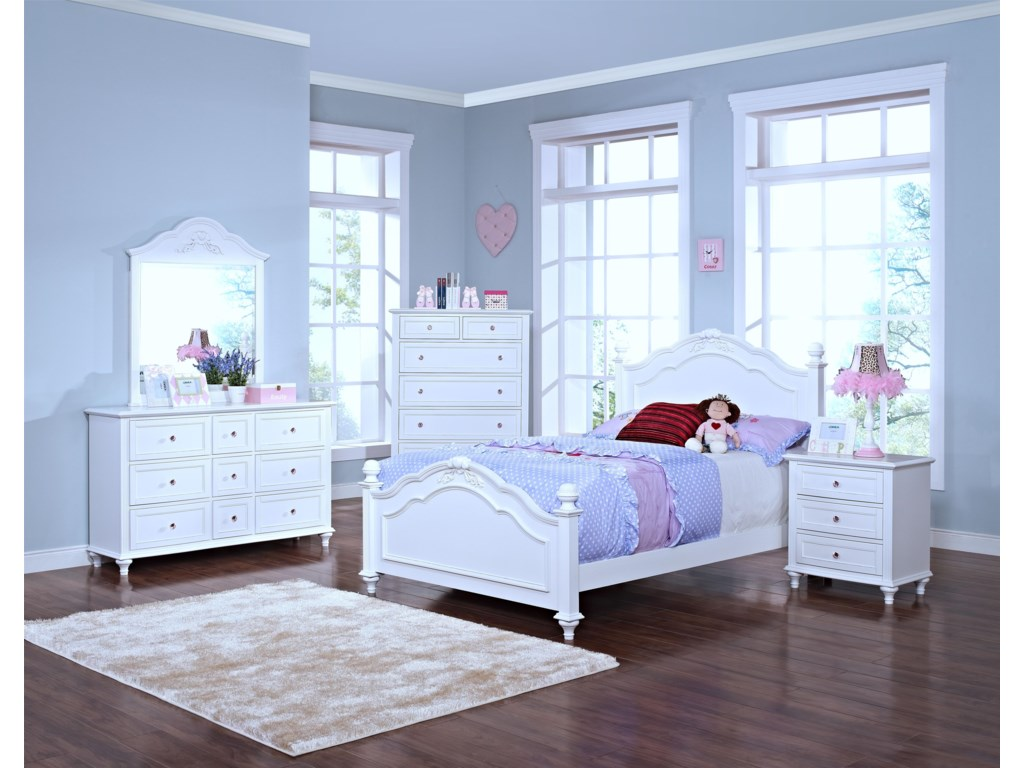 New Classic MeganFull Bedroom Group
