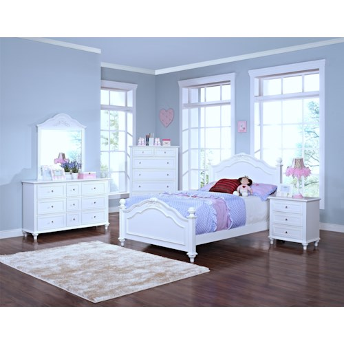 New Classic Megan Twin Bedroom Group