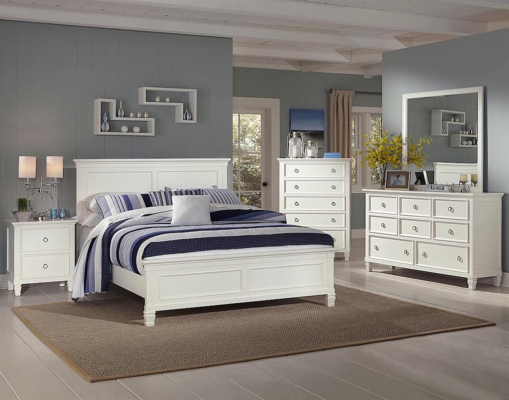 new classic tamarack queen bedroom group - adcock furniture