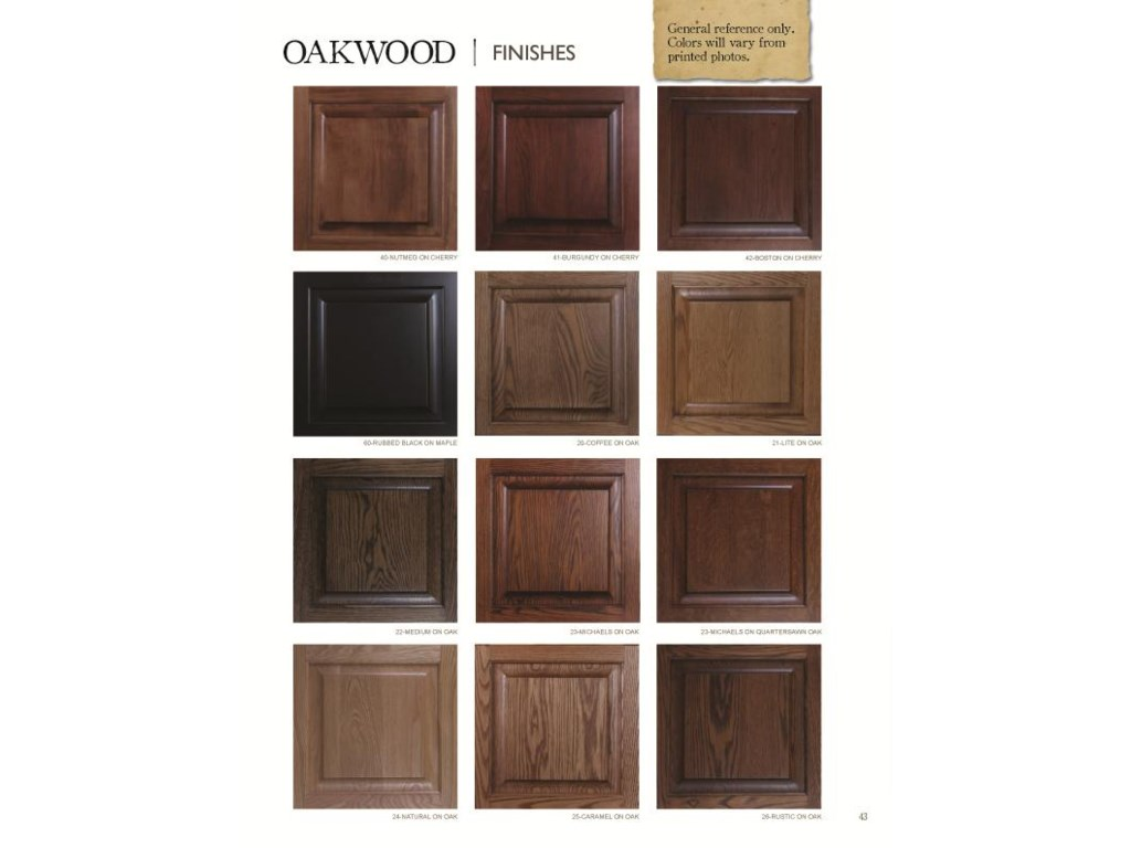 Oakwood Industries Casual DiningBent Back Side Chair