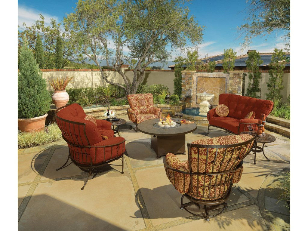 O.W. Lee Monterra 4 Pc. Outdoor Room Group