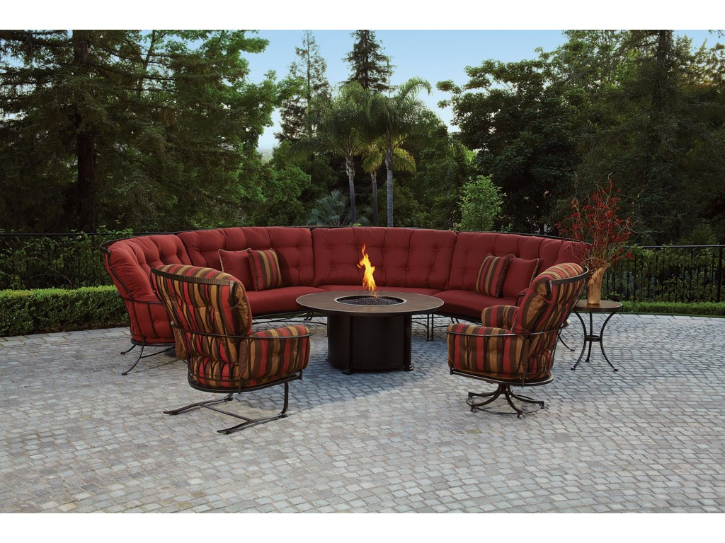 O.W. Lee Monterra 6 Pc. Outdoor Room Group