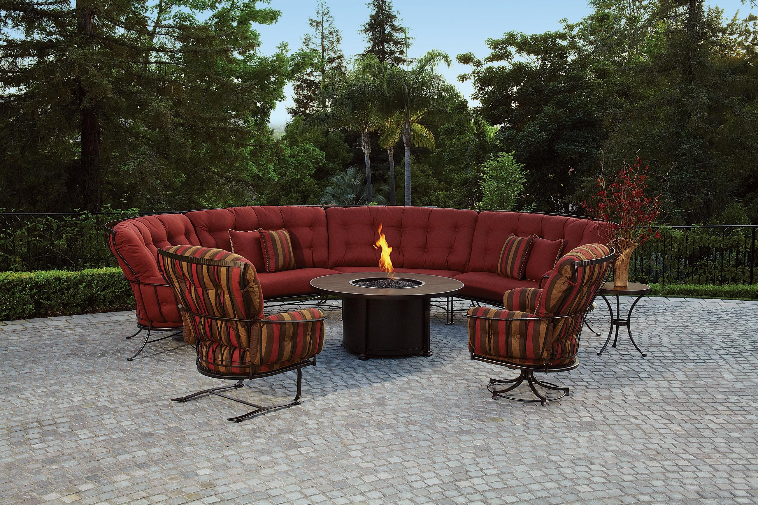 Charmant Monterra 6 Pc. Sectional And Chair Outdoor Room Group By O.W. Lee