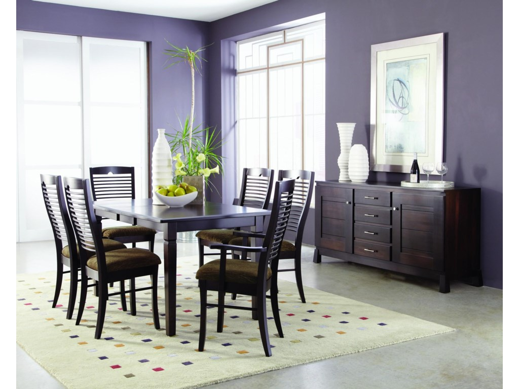 Palettes by Winesburg RomeoFormal Dining Room Group