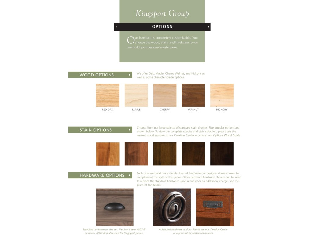 Palettes by Winesburg KingsportDrawer Chest