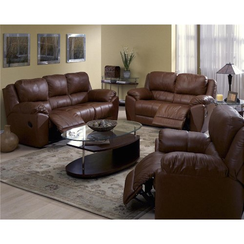 Palliser Benson 41164 Reclining Living Room Group