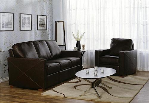 Palliser Carlten 77342 Stationary Living Room Group