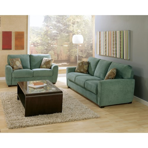 Palliser Capitol Stationary Living Room Group