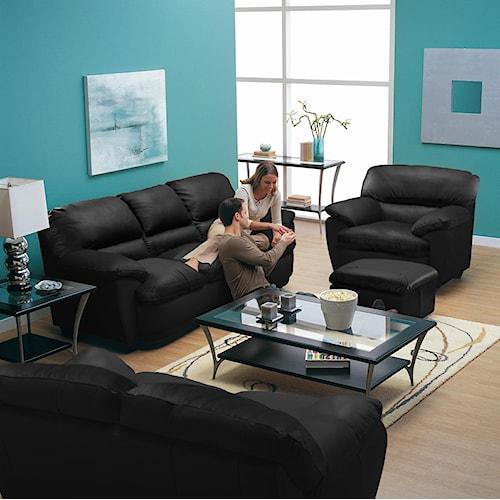 Palliser Harley Stationary Living Room Group