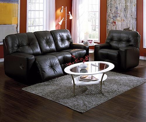 Palliser Mystique Reclining Living Room Group