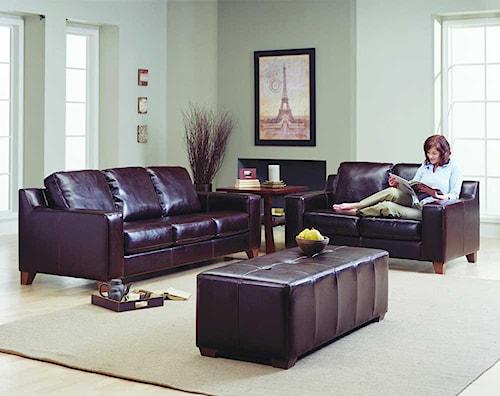 Palliser Reed 77289 Stationary Living Room Group