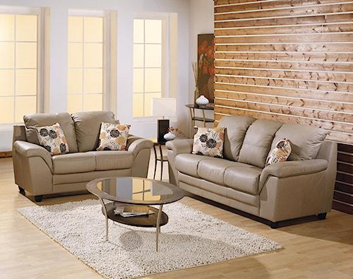 Palliser Sirus Stationary Living Room Group
