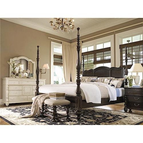 Universal Home California King Bedroom Group