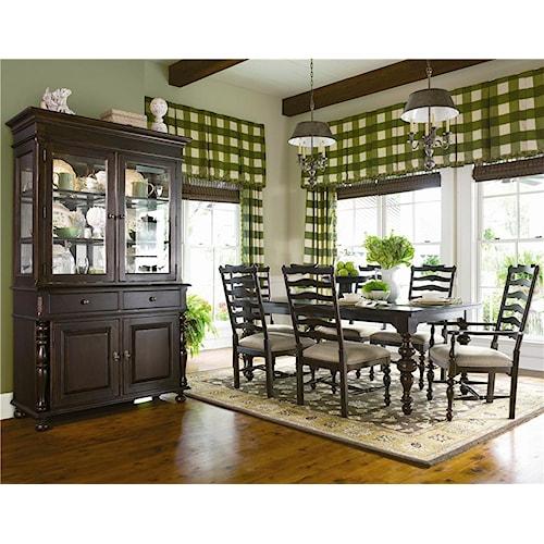 Paula Deen by Universal Paula Deen Home Formal Dining Room Group