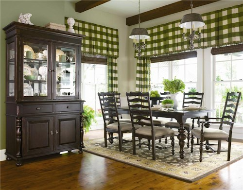 Paula Deen by Universal Paula Deen Home Formal Dining Room Group