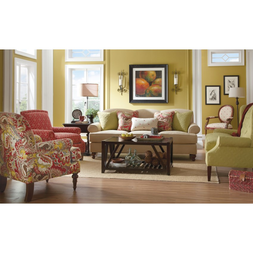 Paula Deen Upholstered Accents by Paula Deen by Craftmaster