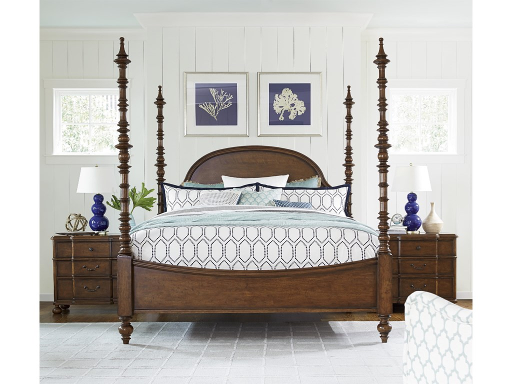 Paula Deen by Universal DogwoodCalifornia King Bedroom Group