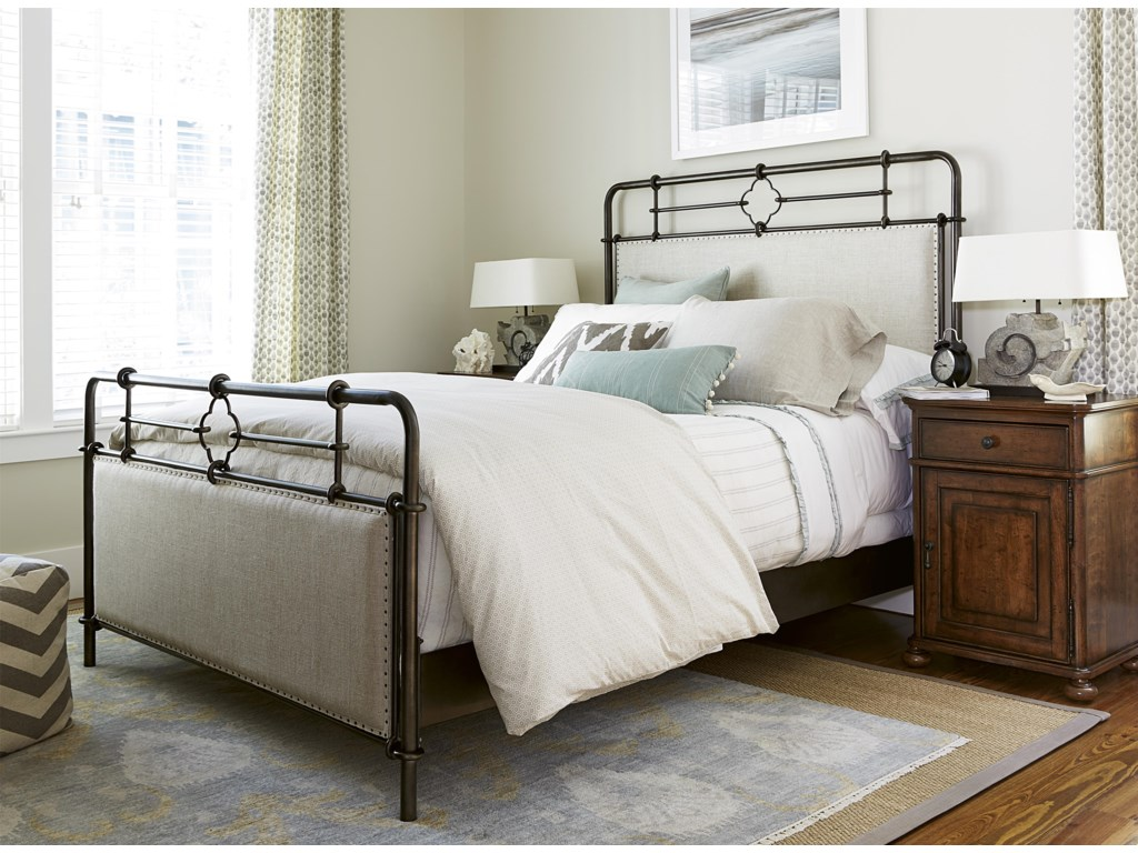 Paula Deen by Universal DogwoodKing Bedroom Group